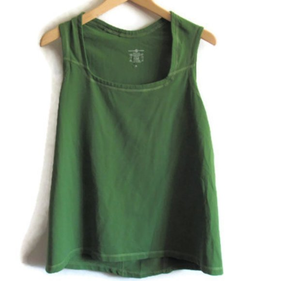 Lululemon Green Tank Top Rare Made in Canada